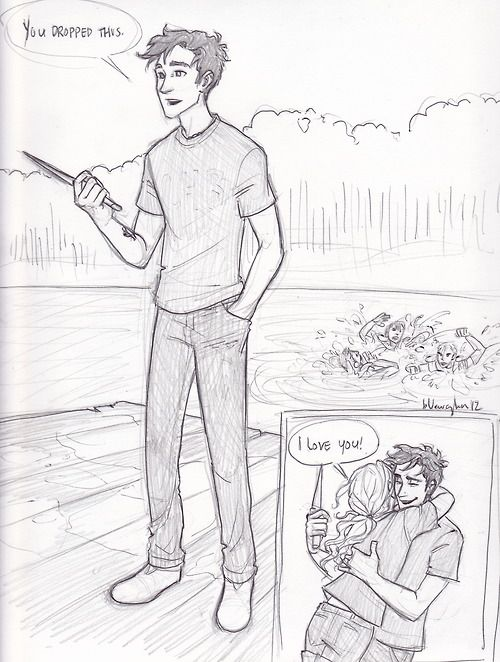 Drawn comics percy jackson And Percy this Love 17