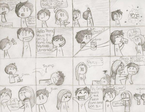 Drawn comics percy jackson By Percy Jackson by Yaki