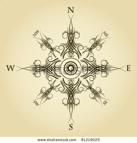 Drawn compass ancient On Pin 71 Compass Find