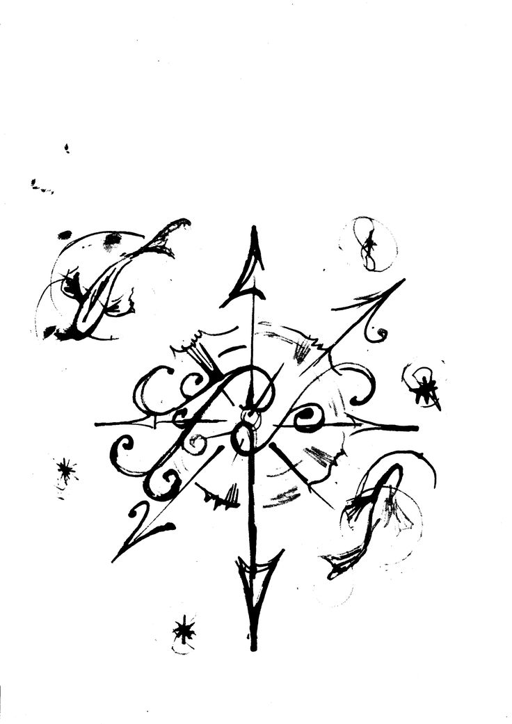 Drawn compass basic Project Small Best tattoo Compass
