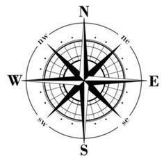 Drawn compass basic Free pattern mariner's Rose