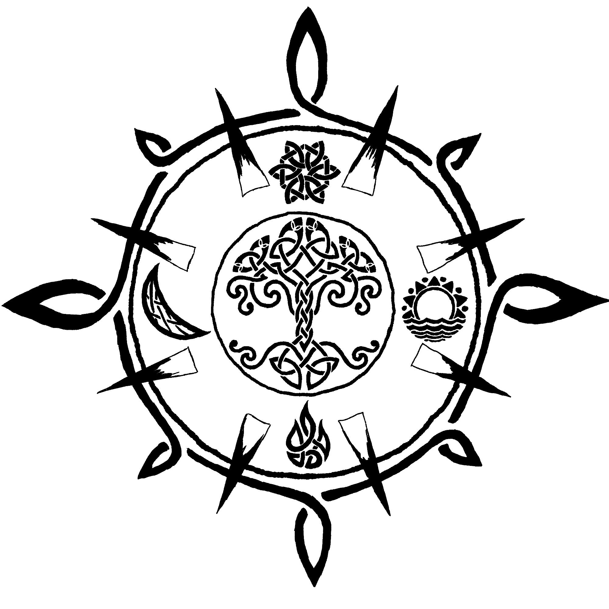 Drawn compass celtic Celtic DeviantArt Compass on Compass