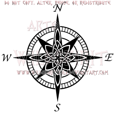 Drawn compass celtic On Design WildSpiritWolf Tattoo @deviantART