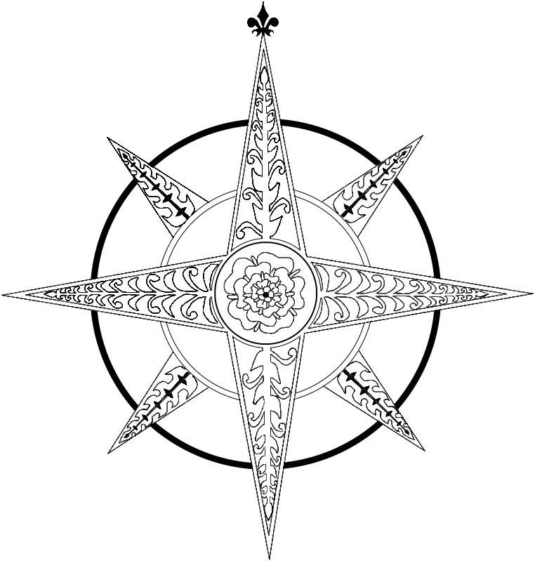 Drawn compass celtic Art  Free on Free