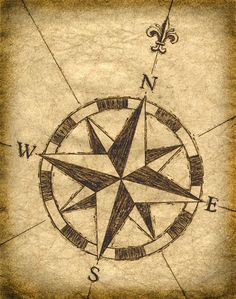 Drawn compass classic X DraconicParagon  deviantART Nautical