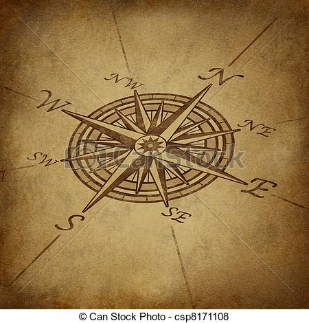 Drawn compass classic List Pack) and List NAUTICAL
