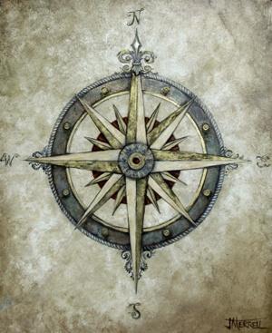 Drawn compass coordinate Pinterest compass on Compass ideas