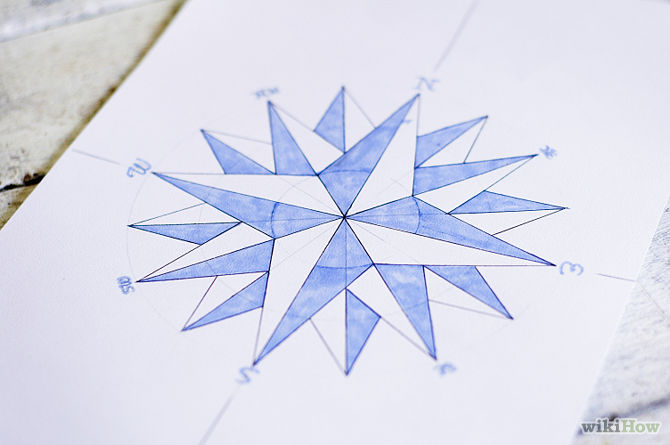 Drawn compass drawing To How Draw a Rose
