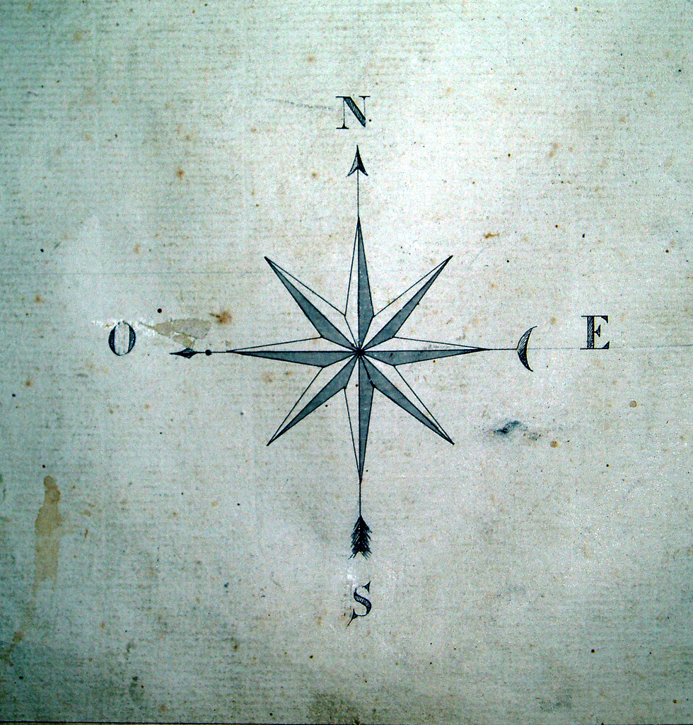 Drawn compass french Hand feathers daviddb by love