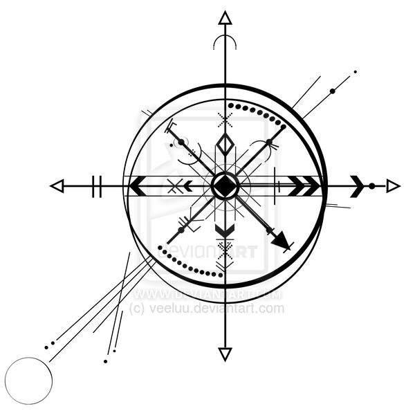 Drawn compass geometry By Compass com on …