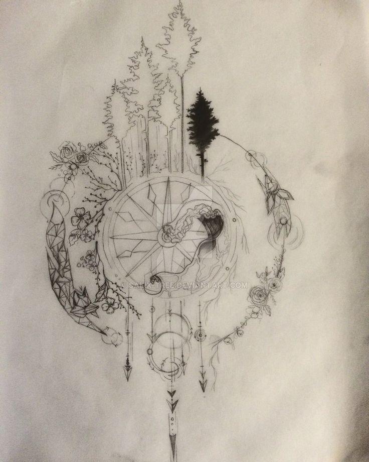 Drawn compass intricate 1 Balance Best 25+ symbol