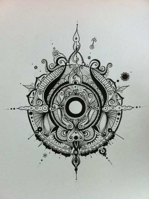 Drawn compass intricate 66 Pinterest images Fuß Coole