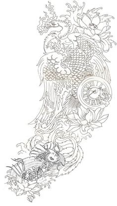 Drawn compass japanese Compass THIS png Pinterest compass_rose_tattoo_design_by_yamcr