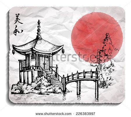 Drawn compass japanese Best Kyoto : on Pinterest