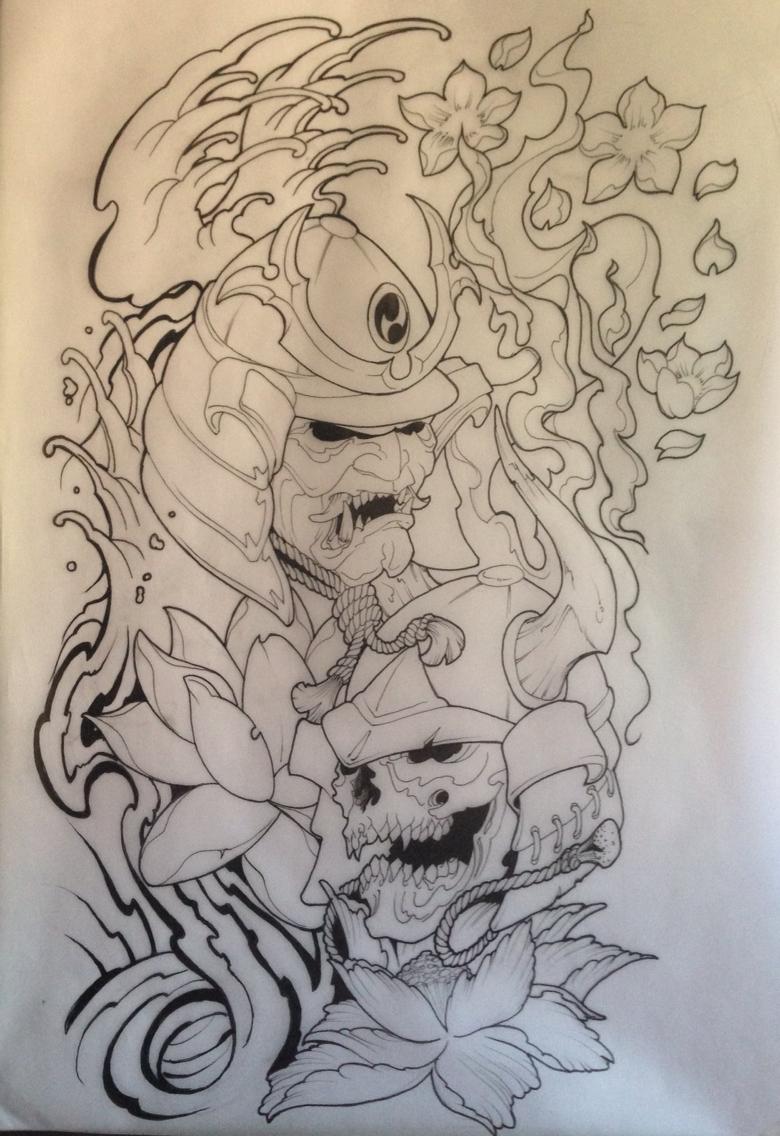 Drawn compass japanese Flash draw tattoo  flash