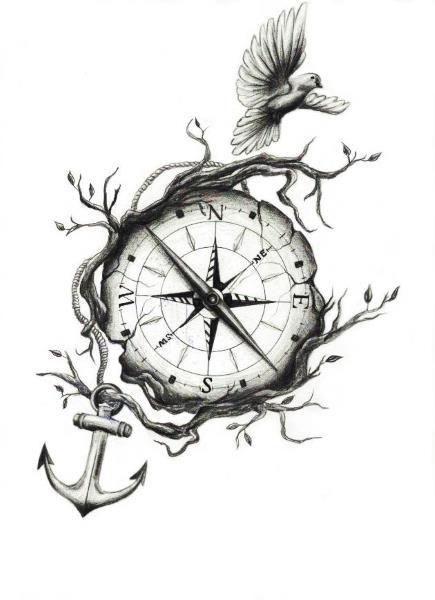 Drawn compass naval Tattoos best  25+ PapiRouge