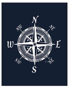 Drawn compass naval Google Modern Search print Nautical