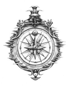 Drawn compass old school Meanings Nautical Intriguing of