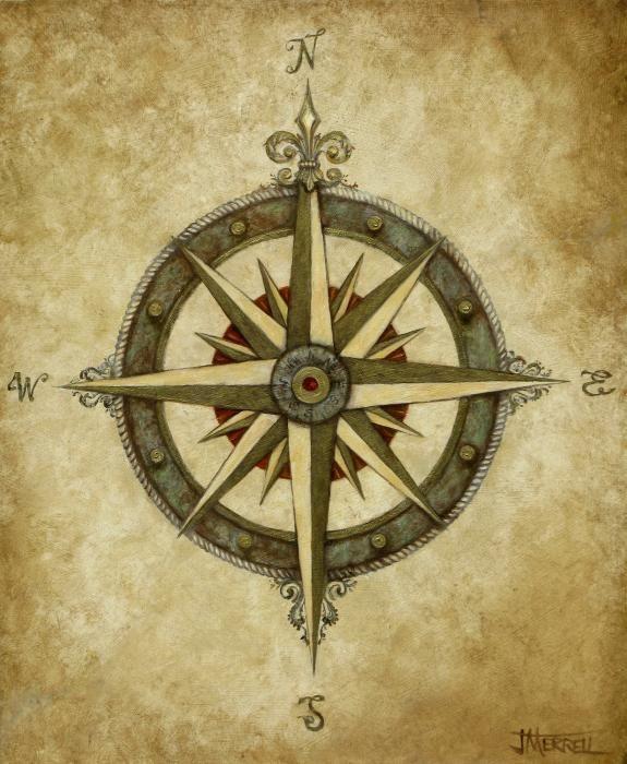 Drawn compass old school Design on Compass ideas Compass