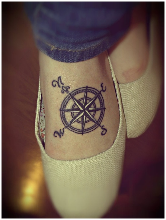 Drawn compass one piece Tattoo designs Amazing Compass compass