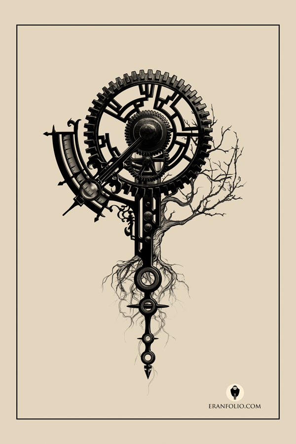 Drawn compass tree life Life of Pinterest Arbre deviantART