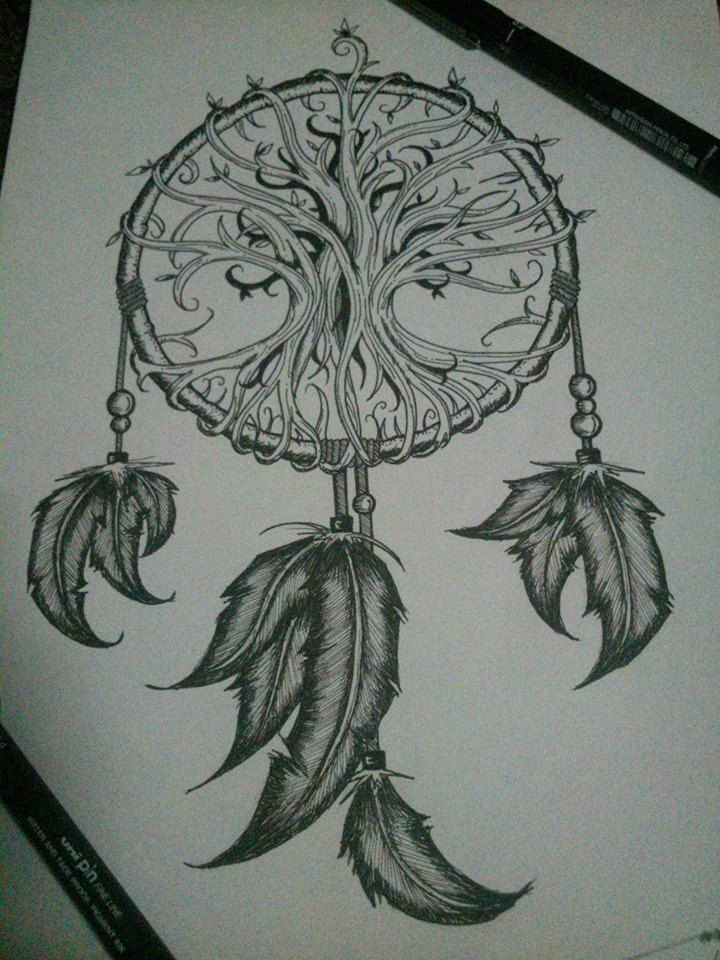 Drawn compass tree life Life ideas on best Tree
