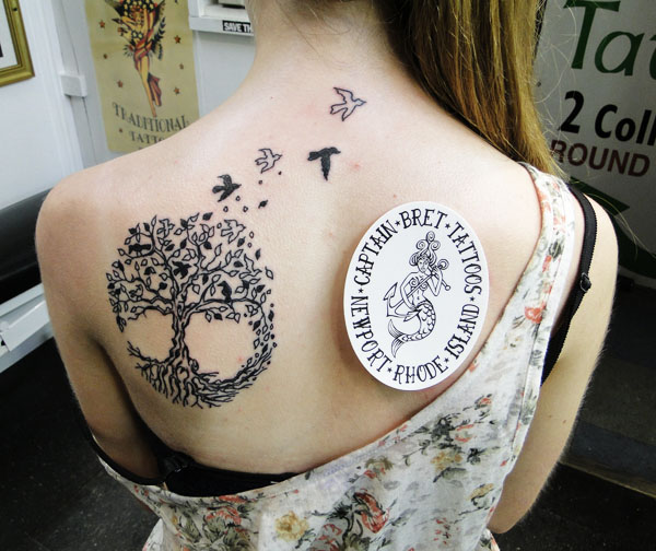 Drawn compass tree life History Shop Tree Tattoo of