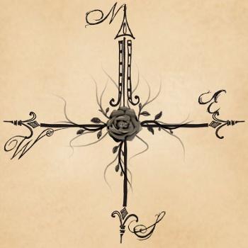 Drawn compass tribal Tattoo Tattoos: Rose Designs Compass