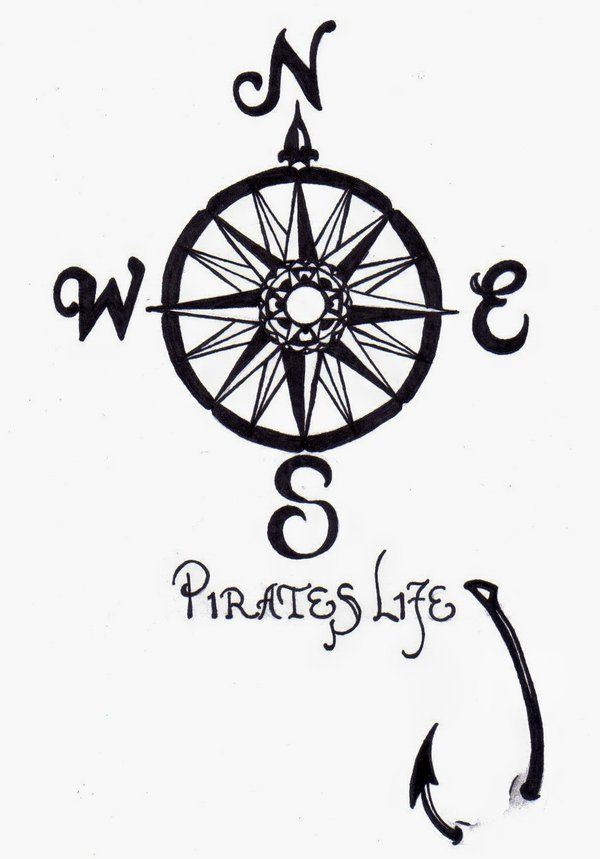 Drawn compass tribal Pinterest Pin this Tattoos Find