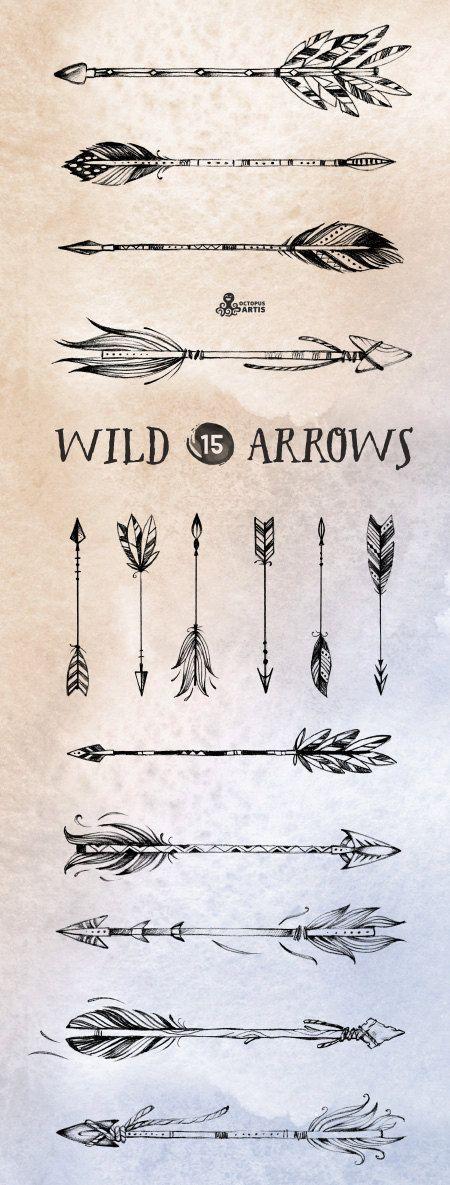 Drawn compass tribal Lápiz 15 dibujado 15 salvaje