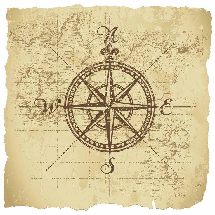 Drawn compass vintage Vintage  Pinterest compass ideas