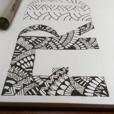 Drawn stare doodle art Pinterest cool voor Doodle Afbeeldingsresultaat