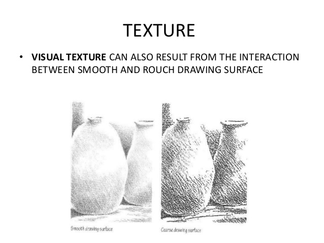 Drawn contrast texture Tone Texture TEXTURE VISUAL •