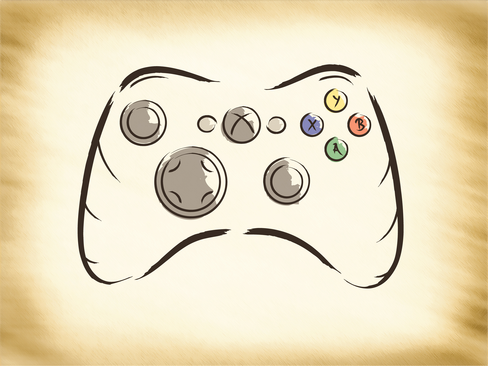 Drawn controller Google game video Google video