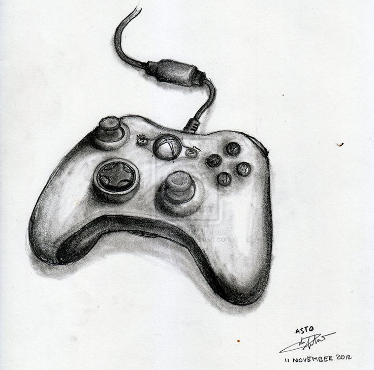 Drawn controller Search drawing xbox doodles controller