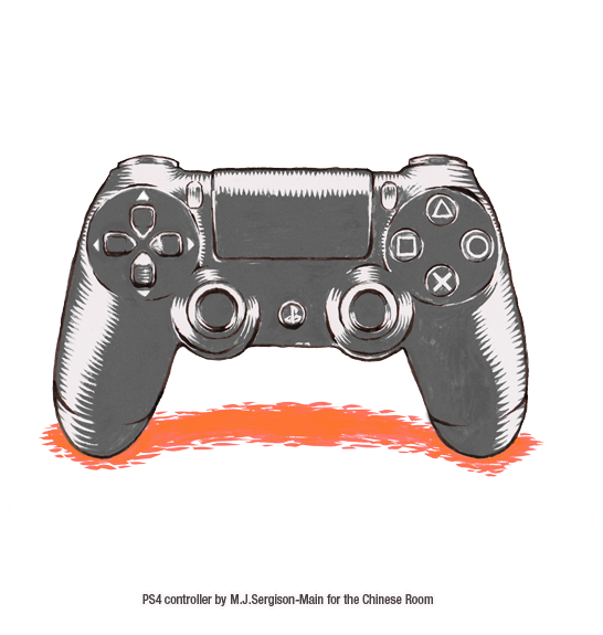 Drawn controller To art ps4 Creative Rapture