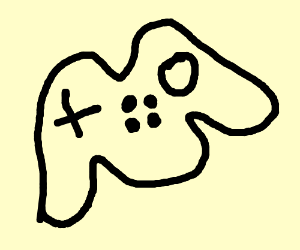 Drawn controller 64 Badly Nintendo drawn controller