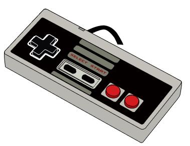 Drawn controller :: com NES variousnefariousness http://www