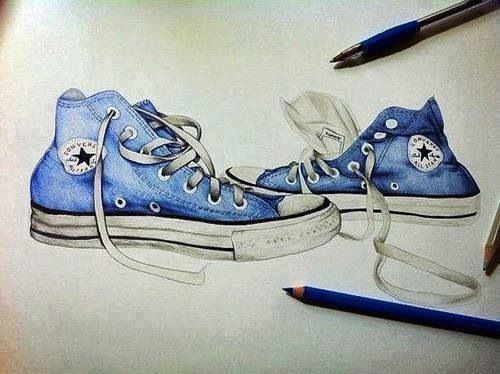 Drawn converse shoe Ideas Best on Converse Converse