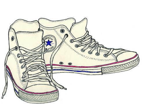 Drawn converse Converse photo Converse Flickriver on