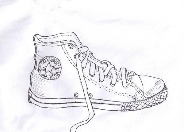 Drawn converse shoe Converse Drawn Drawn on My