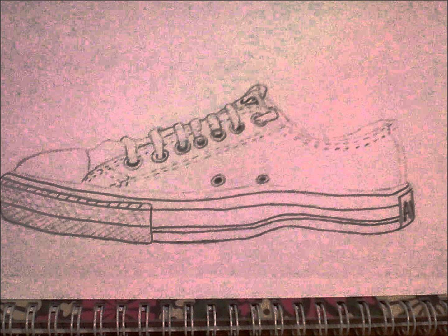 Drawn converse all star Converse of Drawing a YouTube
