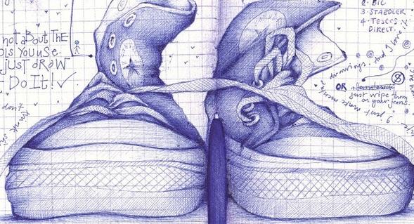 Drawn converse andrea joseph  Andrea Tempest Joseph Creative