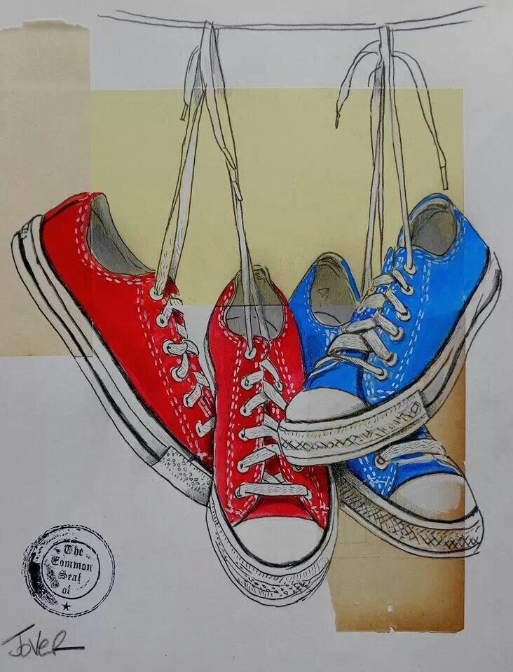 Drawn converse artistic ) ᐛ best 107 Clothes