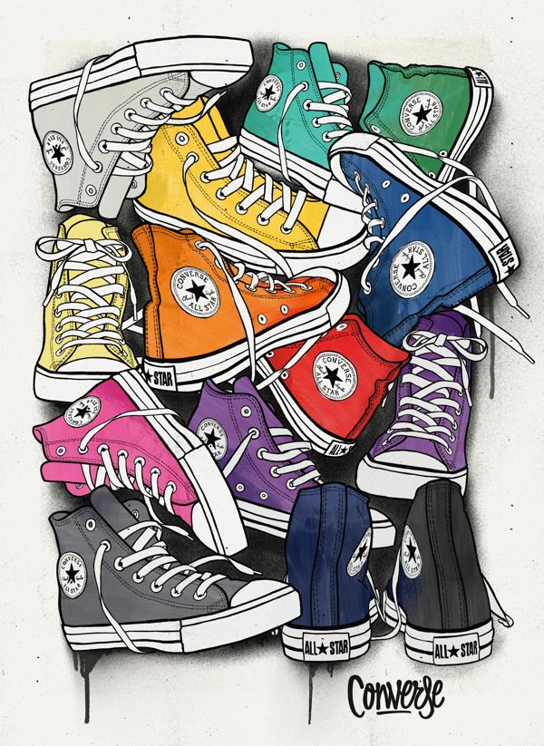 Drawn converse artistic Last for the made Art