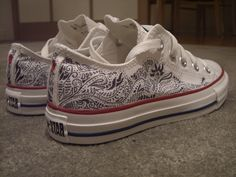 Drawn converse artsy Shoes Drawing sharpie top