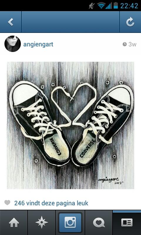 Drawn converse artsy Art Converse Converse Pinterest <3