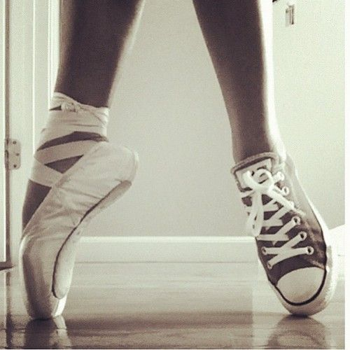 Drawn converse ballet It #pointe kickin Dance Pinterest