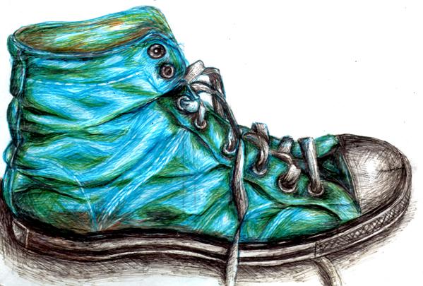 Drawn converse biro Is RainbowSheepOfDoom shoe by biro