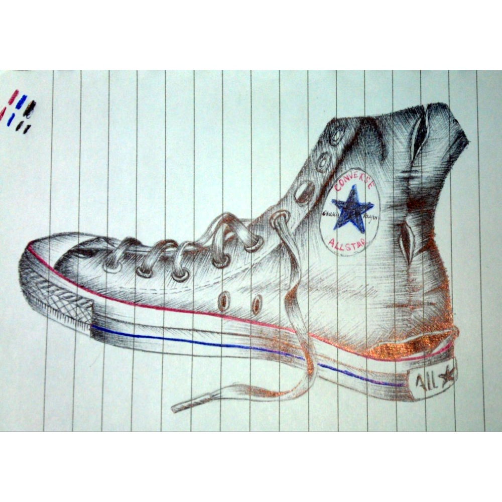 Drawn converse biro Biro Art! of of drawing
